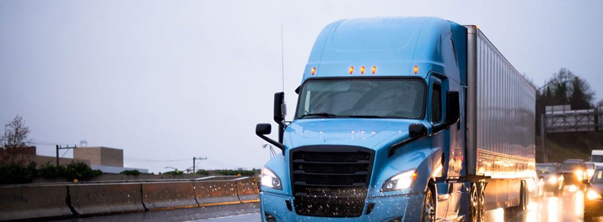 Bad Weather Driving Tips for Semi Truck Drivers